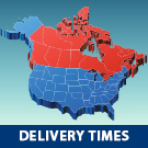 Mercer Trucking Delivery Times North America