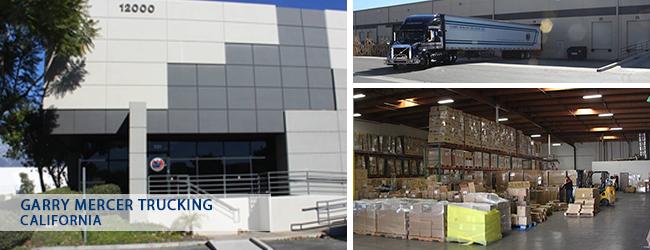 Garry Mercer Trucking California Office
